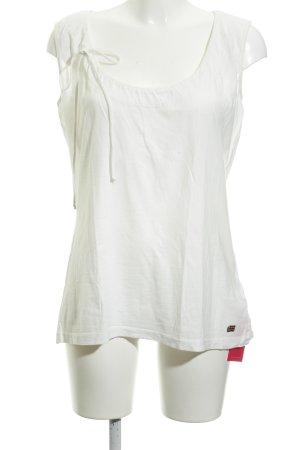 Napapijri T-Shirt hellgelb Casual-Look
