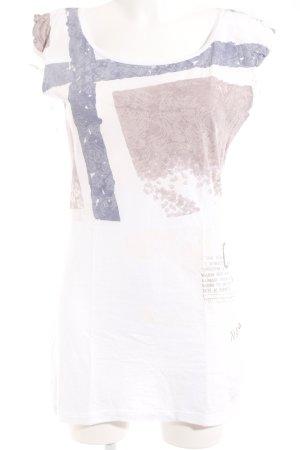Napapijri T-Shirt Motivdruck Casual-Look
