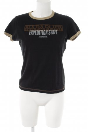 Napapijri T-Shirt Schriftzug gedruckt schlichter Stil