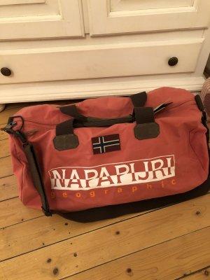 Napapijri Weekender Bag salmon-bright red
