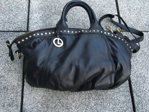 L.credi Carry Bag black leather