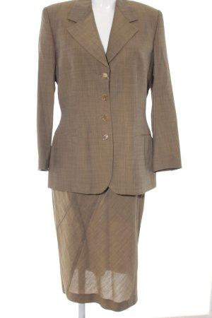 Narciso Rodriguez Kostüm graubraun meliert Business-Look