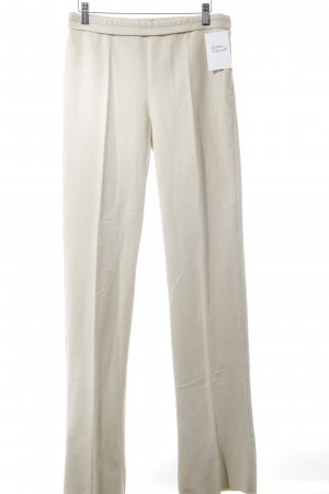 Narciso Rodriguez Stoffhose creme Business-Look