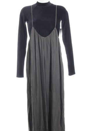 Nasty Gal Jumpsuit grijs minimalistische stijl