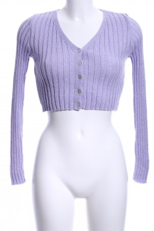 Nasty Gal Knitted Bolero mauve casual look