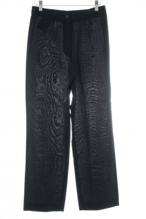 Natan Pantalone da abito nero stile stravagante