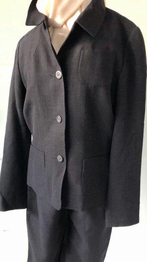 Natan Tailleur pantalone nero-blu scuro Tessuto misto