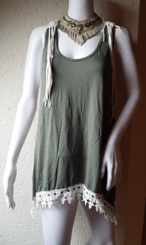 Native Hopi Coachella Ethno Hippie Boho Festival Top Size L