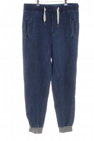 Native Youth Sweat Pants blue casual look