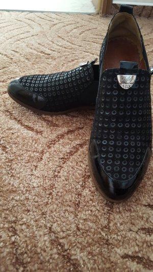 Aldo Zapatos estilo Oxford negro Cuero