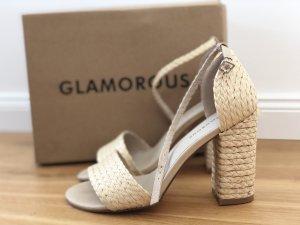 Natural Block Heels