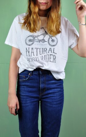 Natural Born Rider Shirt / Motorrad