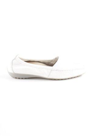 Natural Feet Mokassins weiß Casual-Look