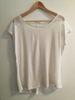 Promod Camiseta blanco puro