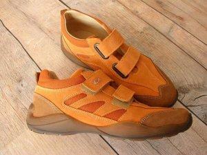 Naturino Sneaker con strappi arancione