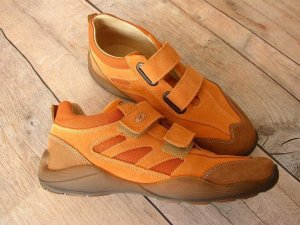 Naturino Basket velcro orange
