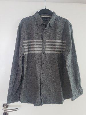 Camicia da boscaiolo grigio
