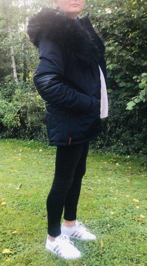 Naketano Capuchon jas zwart