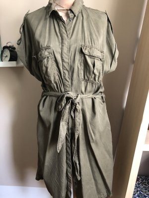 H&M Robe chemise multicolore