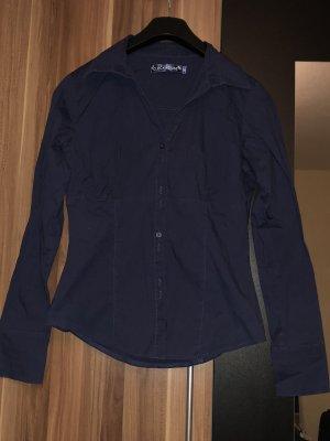Navy Blaues Hemd