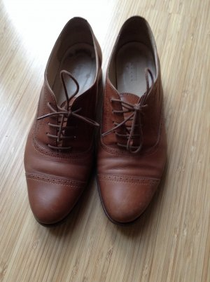 Business Shoes beige leather
