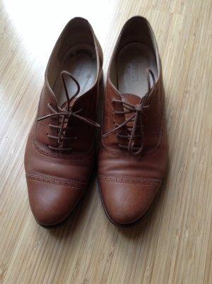 Navy Boot Business Schuhe