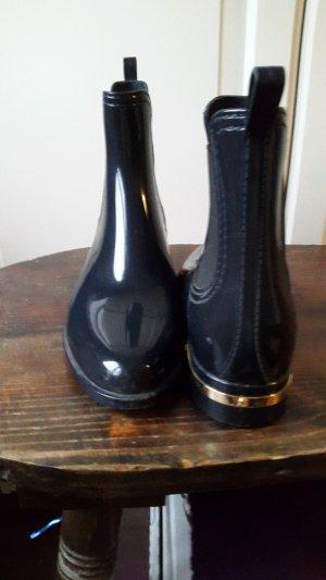 Navy Boot Gummi Stiefel Stiefelette 39