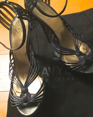 Navy Boot Pumps Gr. 39 neu