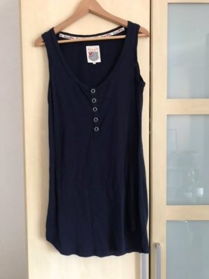 Navy Farbenes Review Kleid