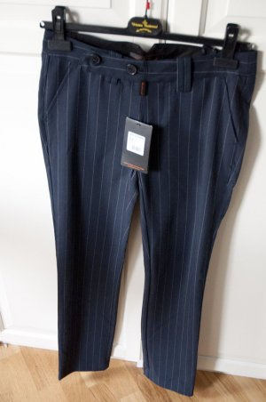 Navy Nadelstreifenhose von Ben Sherman in XS Business Rockabilly