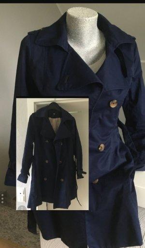 Navyblauer Trechcoat von H&M Gr 36