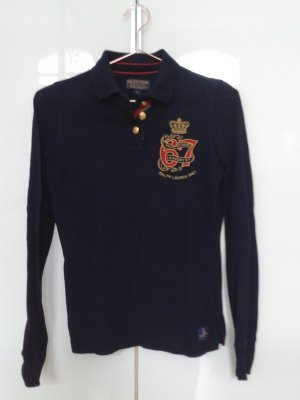 Polo Jeans Rugby Shirt dark blue cotton
