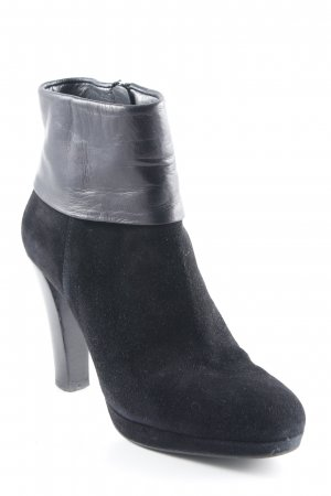 Navyboot Ankle Boots schwarz Casual-Look
