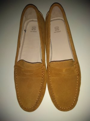 Navyboot Moccasins cognac-coloured
