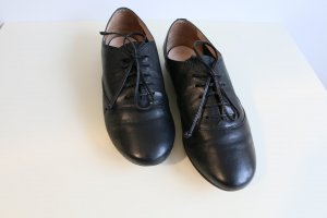 Navyboot Wingtip Shoes black leather