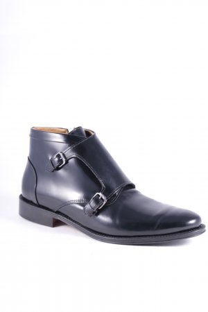 Navyboot Monks schwarz Business-Look