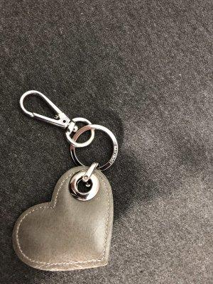 Navyboot Schlüsselanhänger aus Leder in Herzform