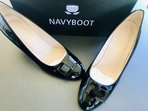 Navyboot Tacones altos negro Cuero