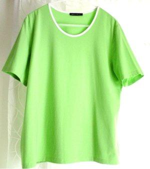 NC Damen Shirt T-Shirt grün hellgrün uni Rundhals