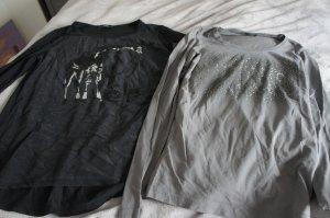 Guess Blusa negro-caqui
