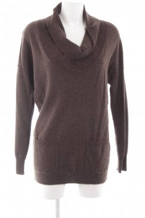 NC nice connections Wollpullover graubraun Casual-Look