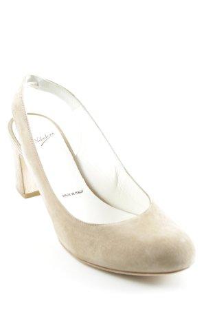 Nebuloni Slingback-Pumps camel Elegant