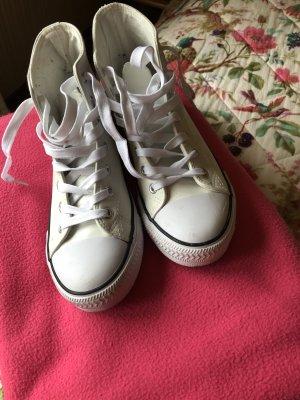 Nebulus Damen Evo High-Top Sneaker, weiß, Leder, Gr. 38 EU