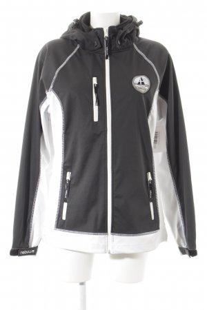 nebulus Softshell Jacket white-grey athletic style