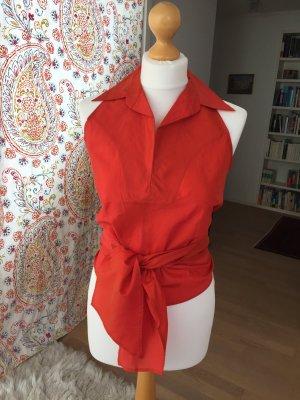 Neckholder-Bluse
