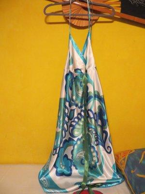 Apart Vestido de cuello Halter multicolor Poliéster