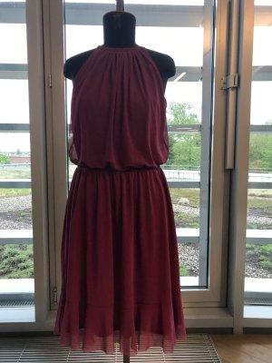 Neckholder Kleid Fuchsia Gr.38