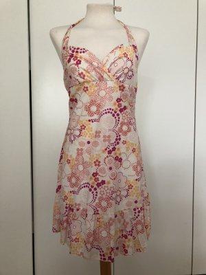 Neckholder Kleid mit Blumen Muster von Soho