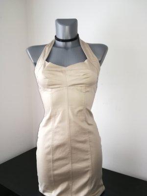 Neckholder Kleid on line luxury Größe XXS 32 Etui Kleid elegant