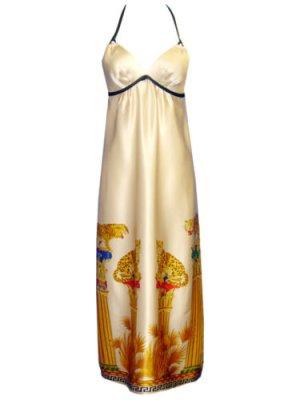 Neckholder Kleid von VOOM by Joy Han 100% Seide Gr.S NP 249$